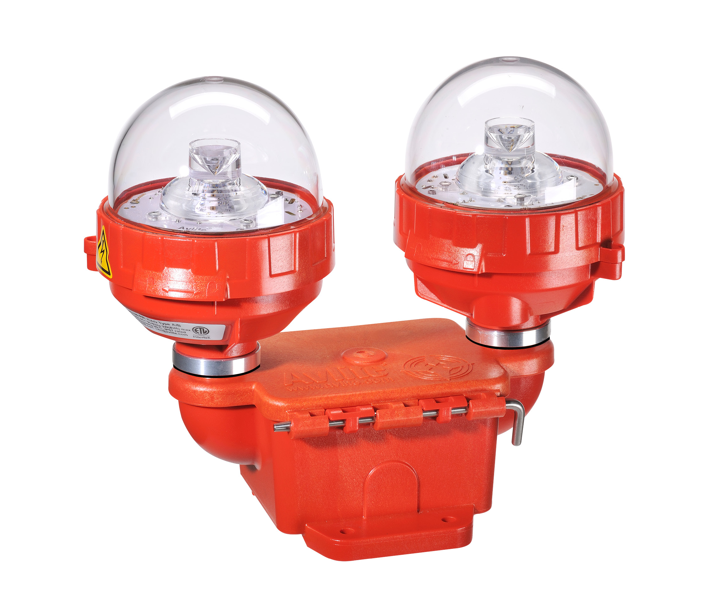 FAA L-810 Dual Fixture low intensity LED obstruction light