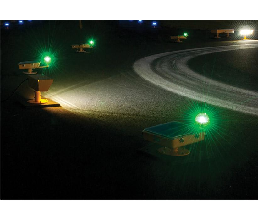 Solar Helipad Flood Lighting Avlite Systems