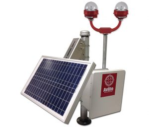 Solar Power System for ICAO Type A & B Single or Dual Obstruction Light