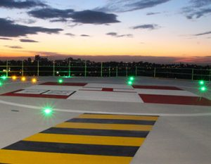 Turnkey solutions for helipad lighting