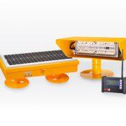 Radio Controlled Solar Helipad Flood Light