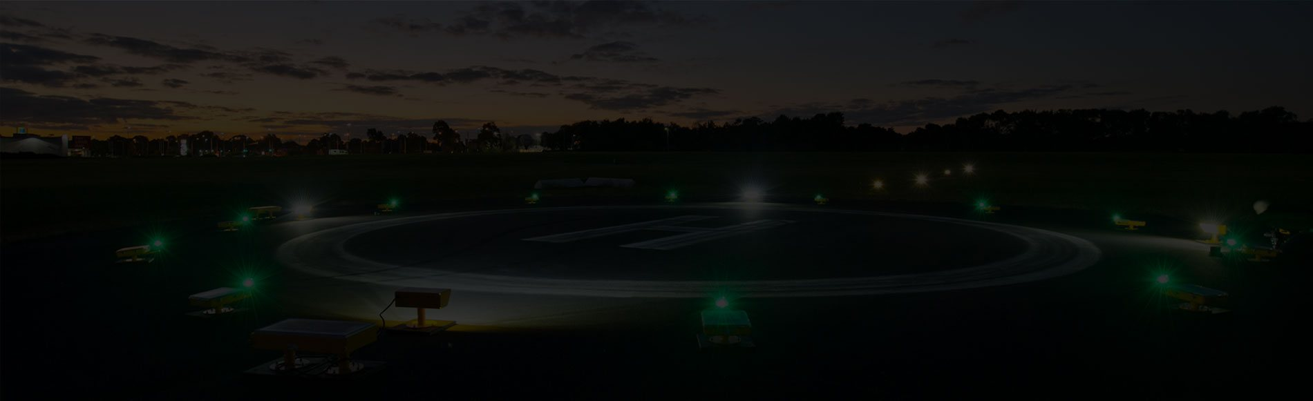 Radio-Controlled Solar Powered Airfield Lighting