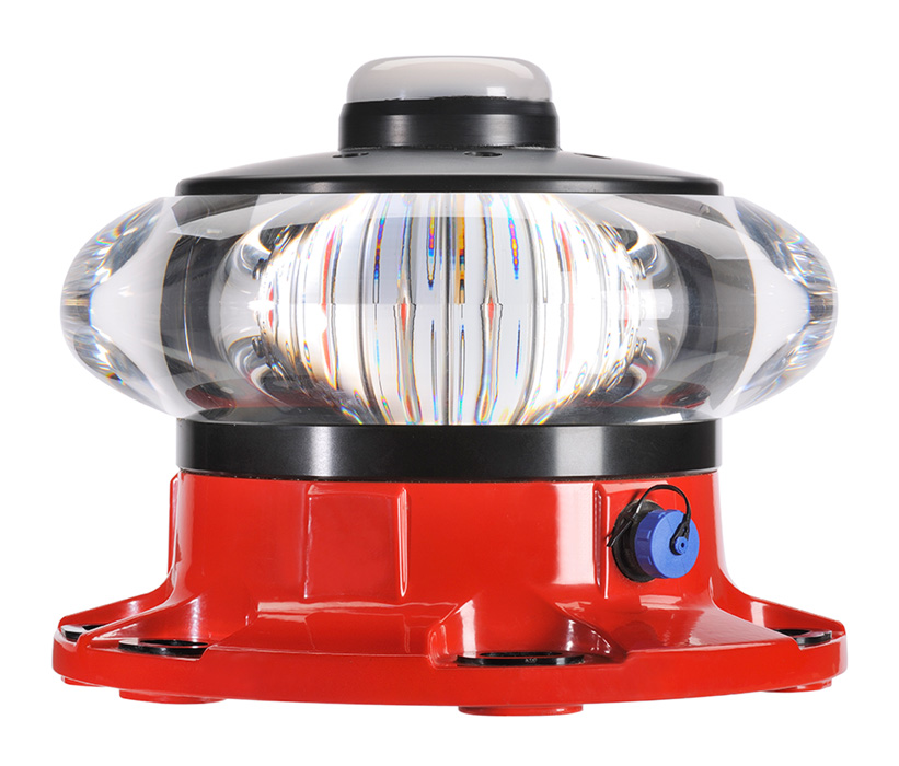 FAA L 864 Red LED Medium Intensity Obstruction Light