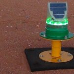 Airport Lighting AV-70-HI Runway end light at Exmouth Aerodrome WA