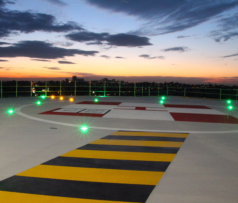 Inset Helipad Lighting Avlite Systems