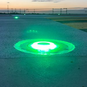 Inset Helipad Lighting