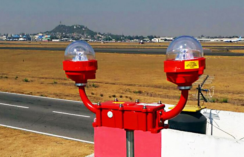 Faa L 810 Dual Fixture Obstruction Lights Avlite Systems