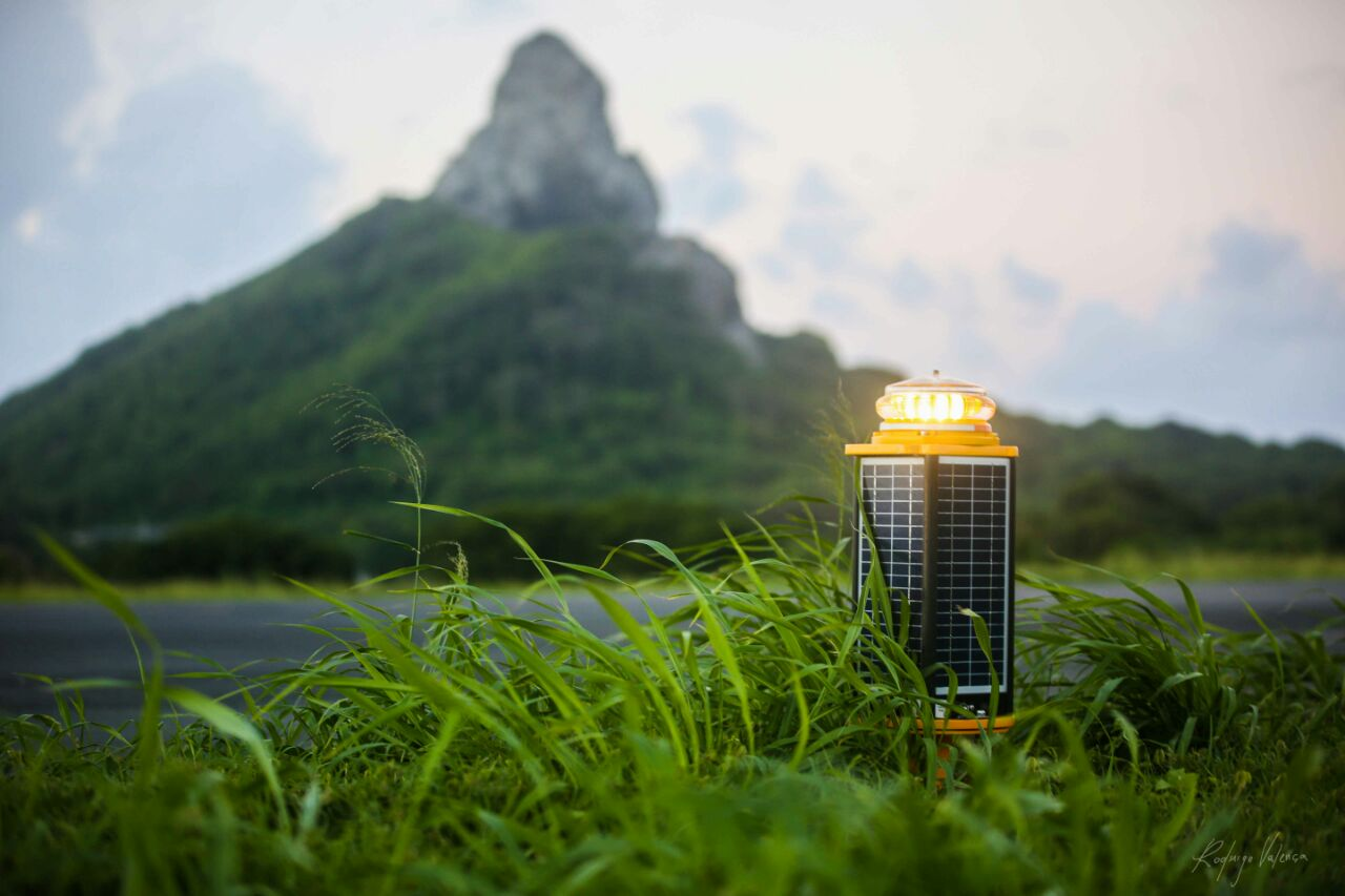 Complete Solar Airfield Lighting System
