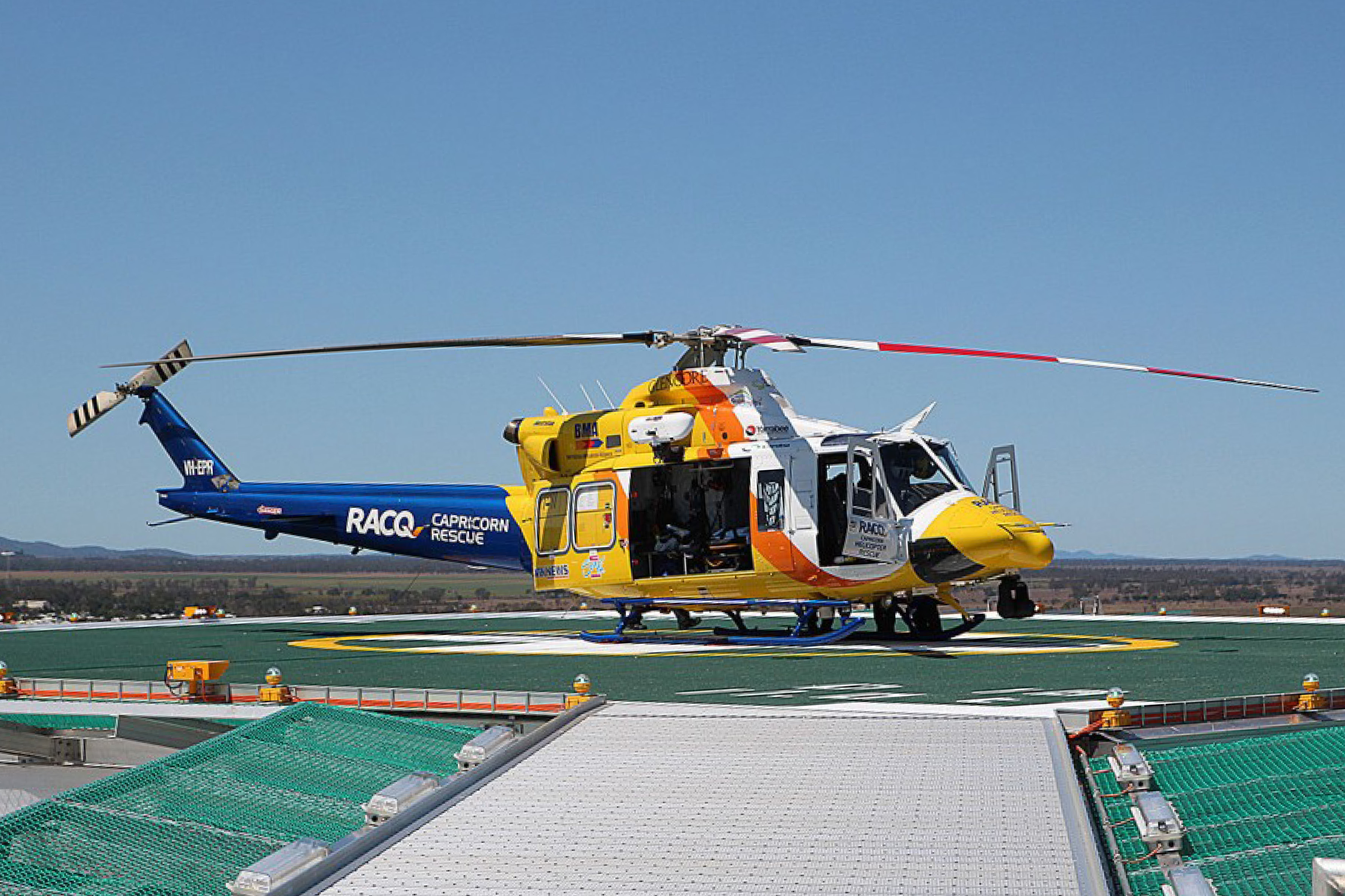 Rooftop Helipad Installation at Rockhampton Hospital