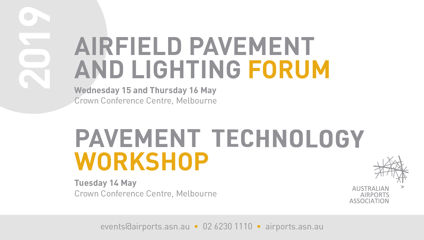 Avlite Presenting at Australian Airport Association Pavement and Lighting Forum 2019