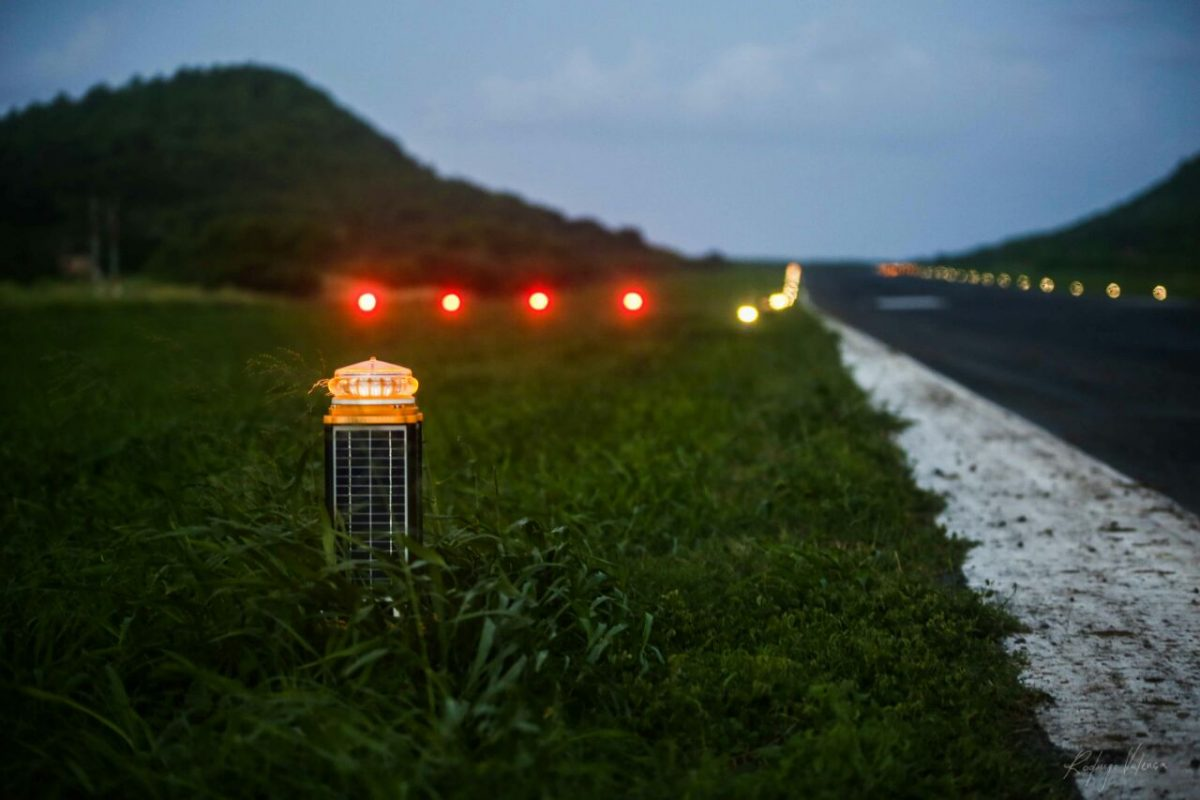 New LED Airfield Lighting Benefits Island Republic